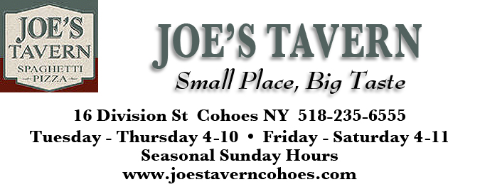 Joe's Tavern Ad